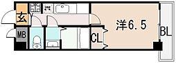 リバーサイド金岡 五番館[6階]の間取り
