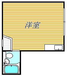 シエスタ上鷺宮[1階]の間取り