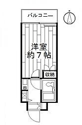 藤和シティコープ新前橋[405号室号室]の間取り