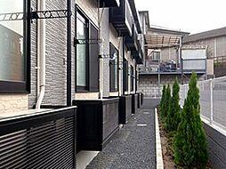 レオパレスパピヨンB[1階]の外観