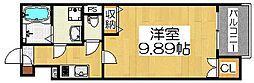 Fstyle鉄砲町[3階]の間取り