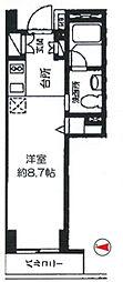 カスタリア戸越駅前(旧 ニューシティレジデンス戸越駅前)[2階]の間取り