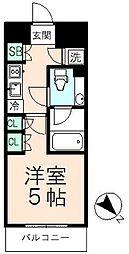 ディグニータ[6階]の間取り