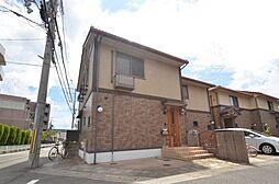 松山タウンハウスC棟の外観写真