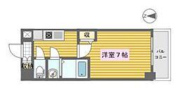 KDX新町レジデンス[7階]の間取り