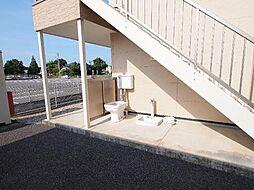 岐阜県可児市川合の賃貸アパートの外観