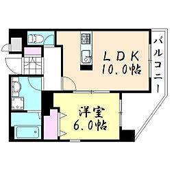 グレースK[7階]の間取り