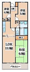 MⅢTAKAI[2階]の間取り