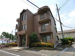 茨城県つくば市上原の賃貸マンションの外観