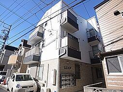東京都足立区中川1の賃貸アパートの外観