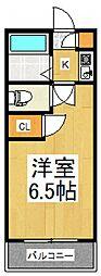 東和マンション[3階]の間取り