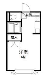 セレクションKUKI[115号室]の間取り