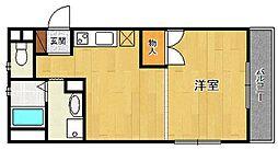 奥ハイツ2[2階]の間取り
