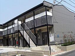 千葉県市川市曽谷8丁目の賃貸アパートの外観
