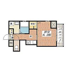Forte di Comfort[5階]の間取り