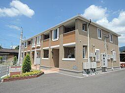 福岡県北九州市八幡西区町上津役西4丁目の賃貸アパートの外観
