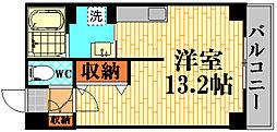 コーポ西翠[5階]の間取り