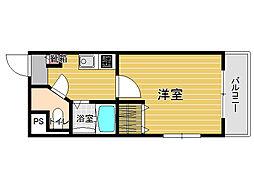 サンマルク藤崎[5階]の間取り
