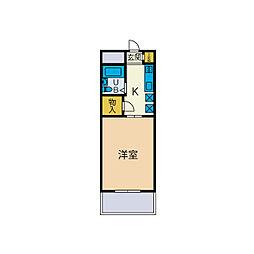 たかのハイツ[2階]の間取り