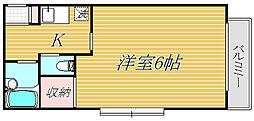 KM III[2階]の間取り