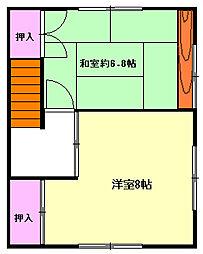 [テラスハウス] 神奈川県足柄下郡湯河原町鍛冶屋 の賃貸【神奈川県 / 足柄下郡湯河原町】の間取り