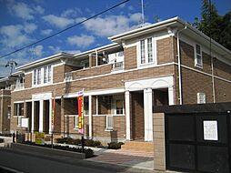 千葉県松戸市八ヶ崎8丁目の賃貸アパートの外観