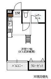 T's HOUSE II[106号室]の間取り