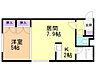 間取り,1LDK,面積33.06m2,賃料3.9万円,札幌市営東西線 琴似駅 徒歩6分,JR函館本線 琴似駅 徒歩7分,北海道札幌市西区二十四軒四条2丁目7番22号