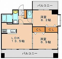 コートK7[8階]の間取り