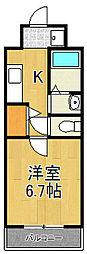 元町ガーデン16[3階]の間取り