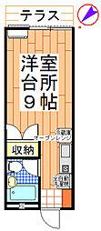 小川ハイム[103号室]の間取り