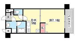 コンフォート宮町[3階]の間取り