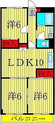 第2千代田マンション[3階]の間取り