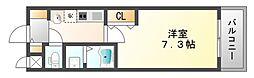 クリアパール垂水[2階]の間取り