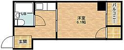 サニーハイツタカヨシ[4階]の間取り