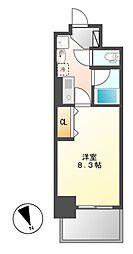 ヒルズ新栄2号館[5階]の間取り