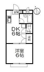 辻堂フローラ[103号室]の間取り