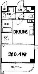 プレミールコート[3階]の間取り