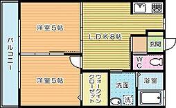 メゾンSUZU[102号室]の間取り