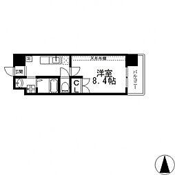 ANIMA−TO南上小阪[705号室号室]の間取り