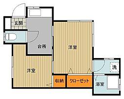 [テラスハウス] 千葉県船橋市西船4丁目 の賃貸【/】の間取り
