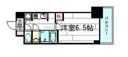 S-RERESIDENCE江坂[3階]の間取り