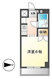 プレズ名古屋田代I[4階]の間取り