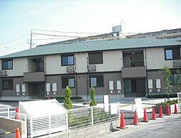 愛知県名古屋市名東区引山2丁目の賃貸アパートの外観