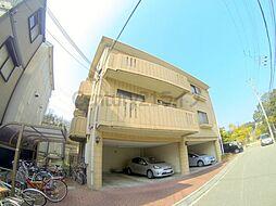 兵庫県宝塚市山本西2丁目の賃貸マンションの外観