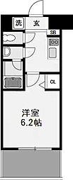 スプランディッド難波II[10階]の間取り