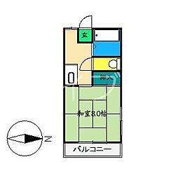 シェアハウス[3階]の間取り