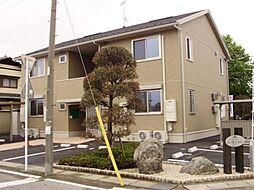 群馬県前橋市三俣町の賃貸アパートの外観