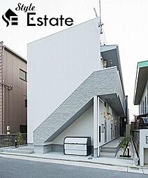 愛知県名古屋市西区押切2丁目の賃貸アパートの外観