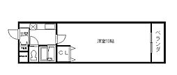 ヴァンテアン東本町[2階]の間取り